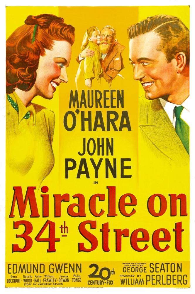 34. Cadde de Mucize Posteri, Vintage, Poster Satış, all posters, kanvas tablo, canvas print sales