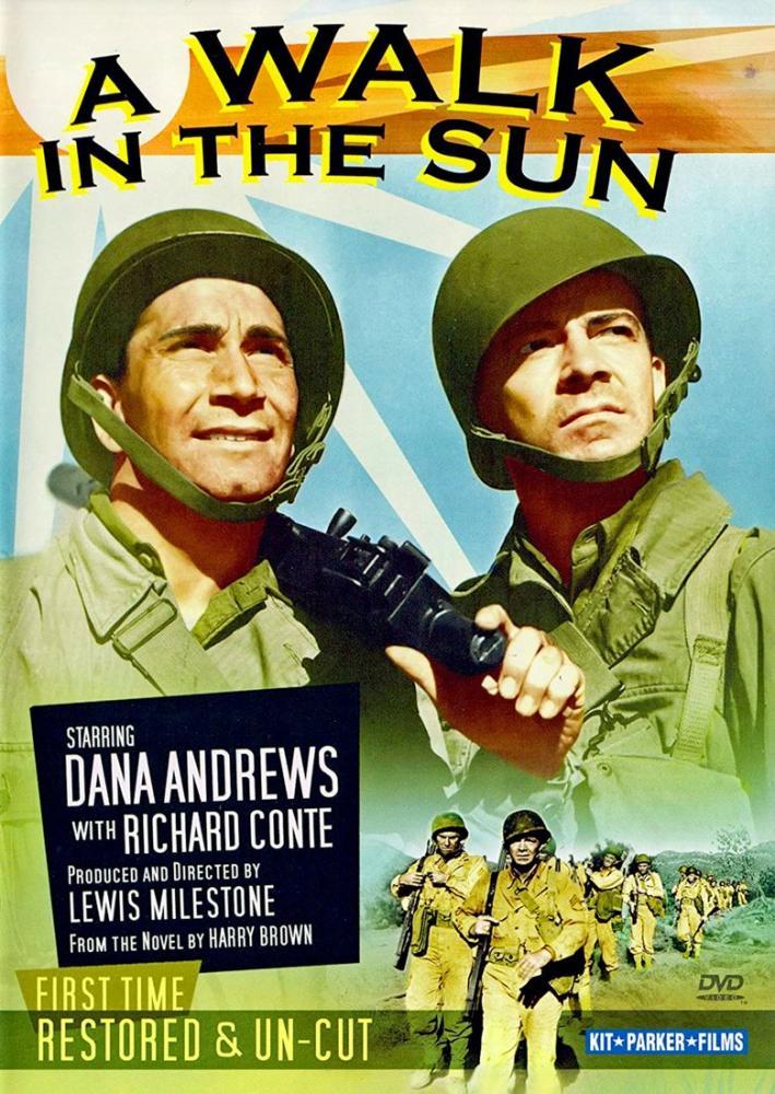 A Walk in the Sun Film Posteri, Vintage, Poster Satış, all posters, kanvas tablo, canvas print sales