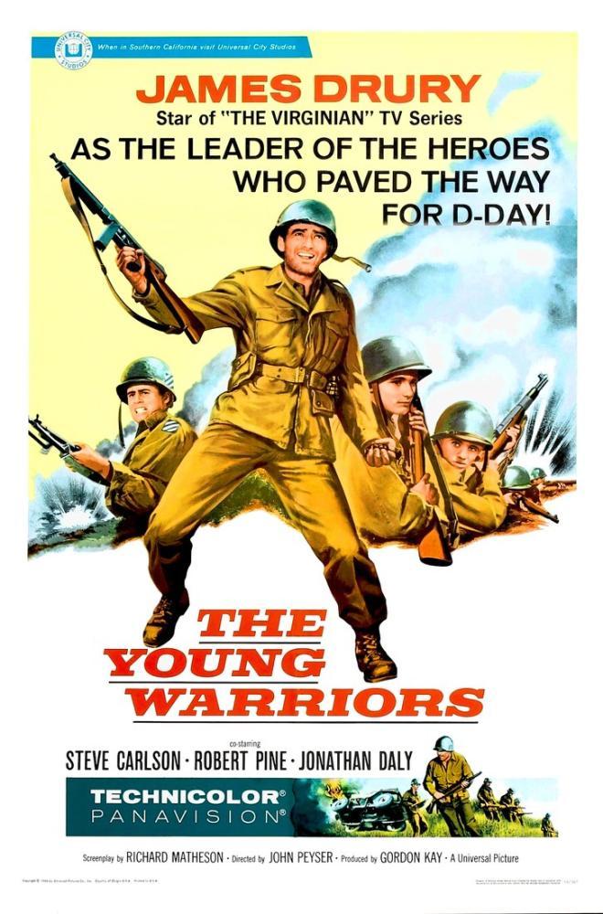 The Young Warriors Movie Poster, Vintage, Poster Satış, all posters, kanvas tablo, canvas print sales