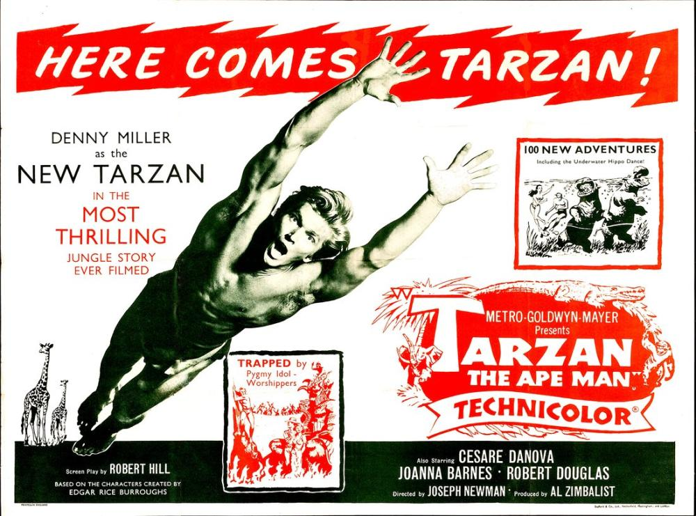 Tarzan, Maymun Adam Film Posteri, Vintage, Poster Satış, all posters, kanvas tablo, canvas print sales