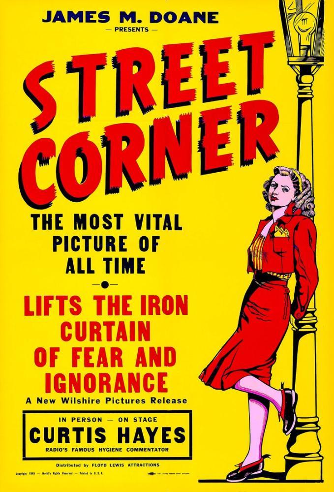 Street Corner Film Posteri, Vintage, Poster Satış, all posters, kanvas tablo, canvas print sales