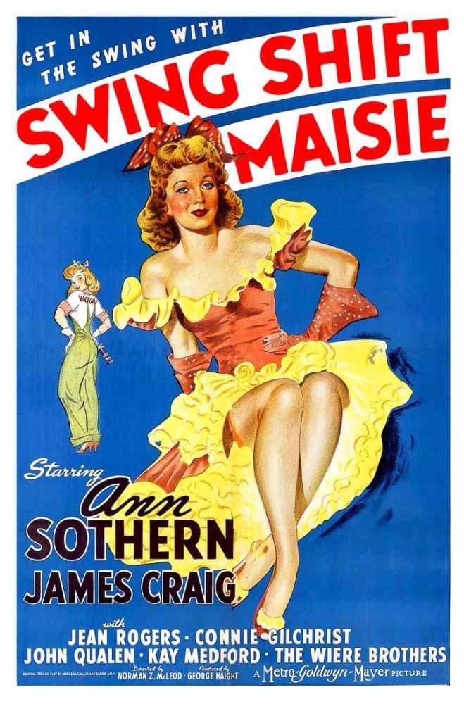 Swing Shift Maisie Film Posteri, Vintage, Poster Satış, all posters, kanvas tablo, canvas print sales