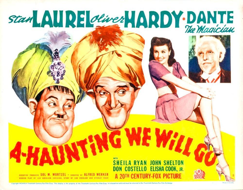 A-Haunting We Will Go Film Posteri, Film Posteri, Poster Satış, all posters, kanvas tablo, canvas print sales