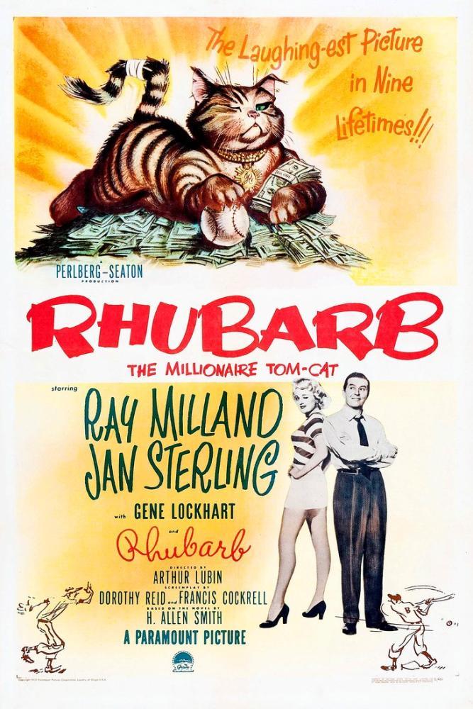 Rhubarb Film Posteri, Vintage, Poster Satış, all posters, kanvas tablo, canvas print sales