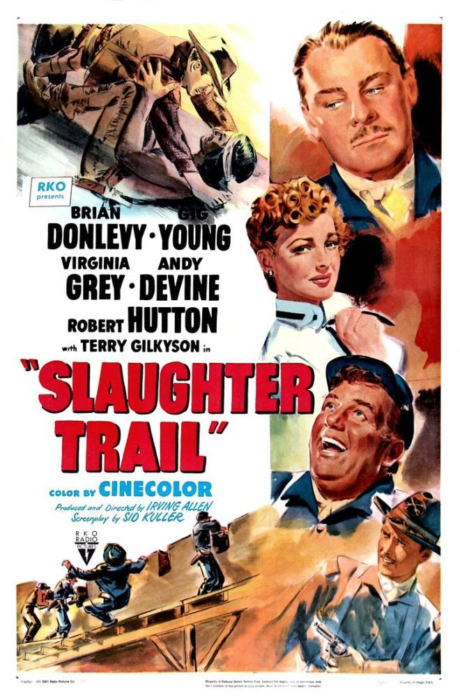 Slaughter Trail Movie Poster, Vintage, Poster Satış, all posters, kanvas tablo, canvas print sales