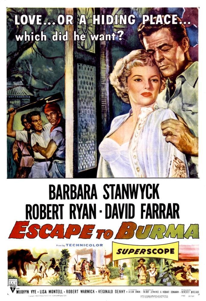 Escape to Burma Film Posteri, Vintage, Poster Satış, all posters, kanvas tablo, canvas print sales