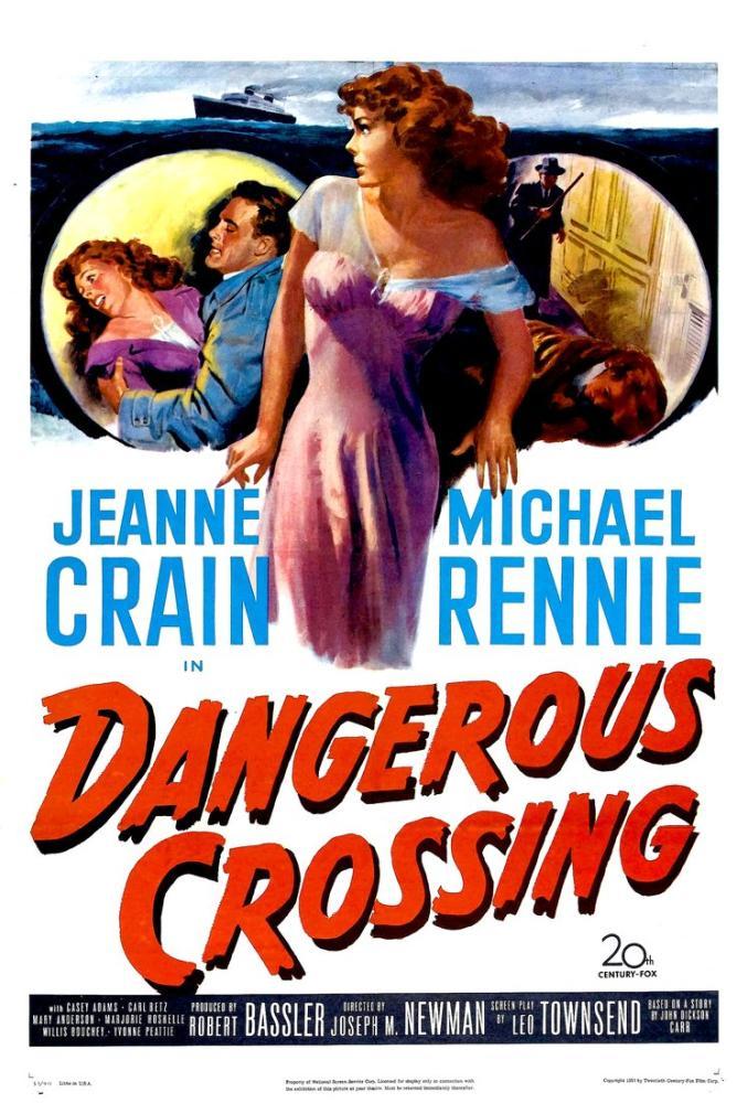 Dangerous Crossing Movie Poster, Vintage, Poster Satış, all posters, kanvas tablo, canvas print sales