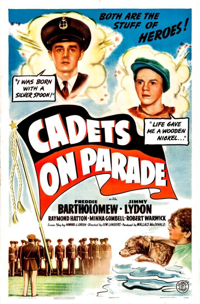 Cadets on Parade Movie Poster, Vintage, Poster Satış, all posters, kanvas tablo, canvas print sales