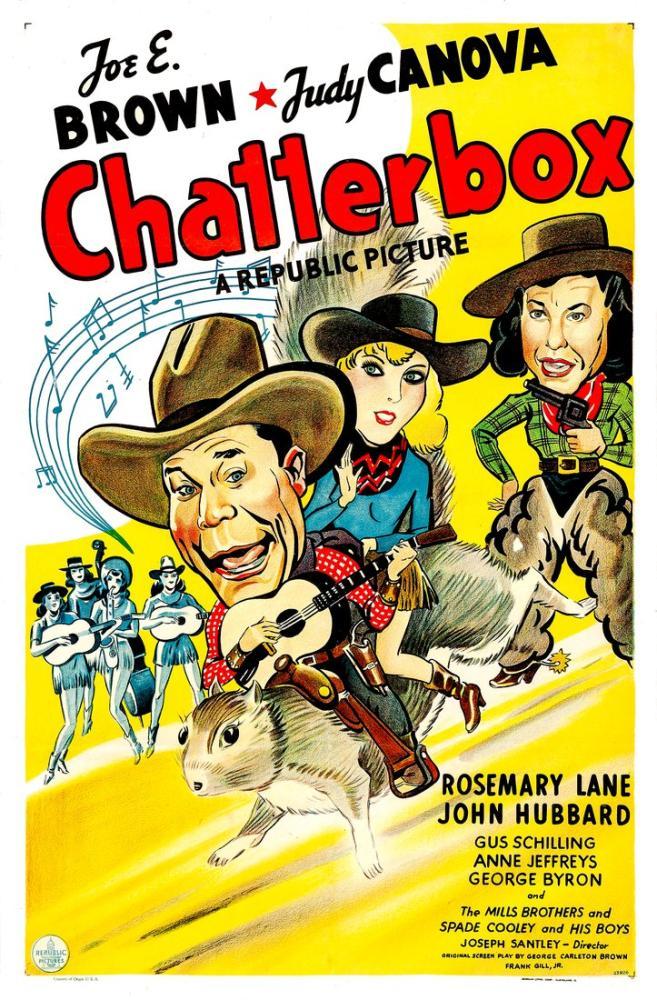 Chatterbox Movie Poster, Vintage, Poster Satış, all posters, kanvas tablo, canvas print sales