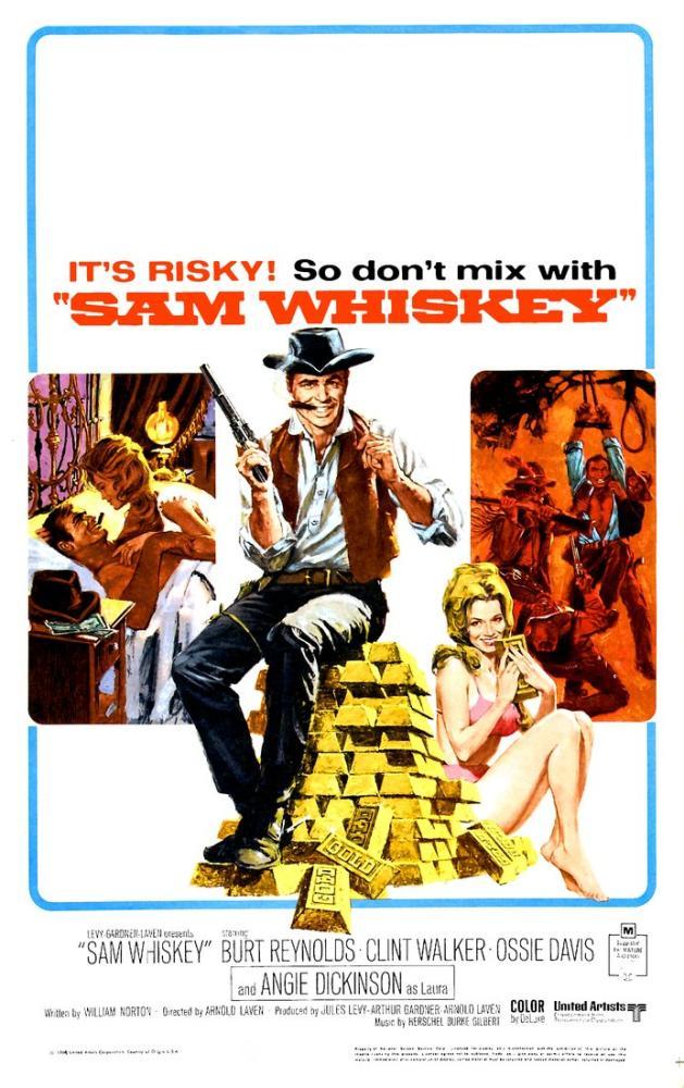 Sam Whiskey Movie Poster, Vintage, Poster Satış, all posters, kanvas tablo, canvas print sales