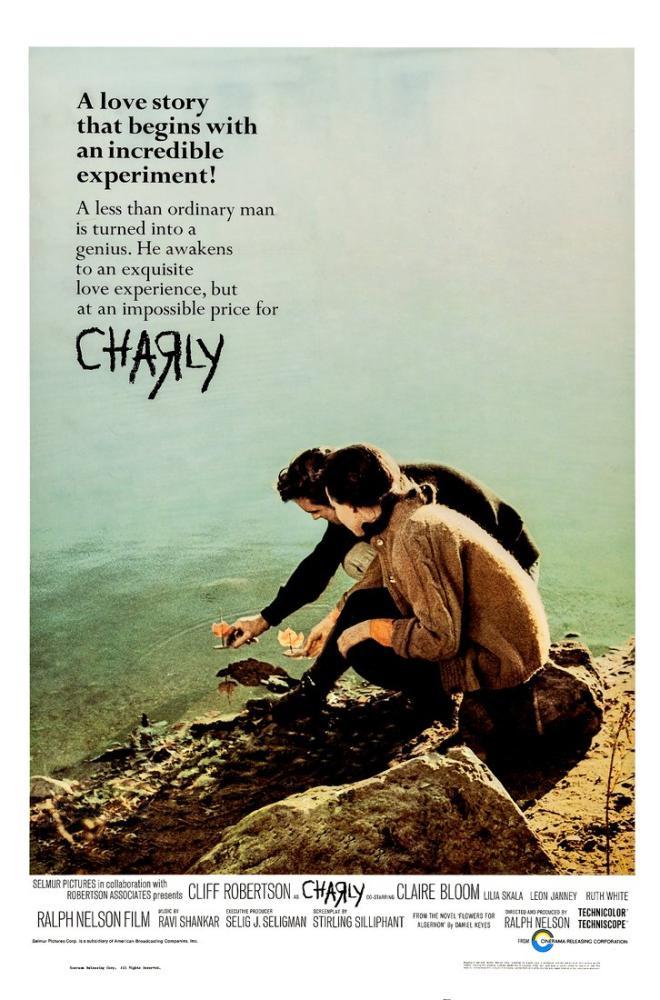 Charly Movie Poster, Movie Poster, Poster Satış, all posters, kanvas tablo, canvas print sales