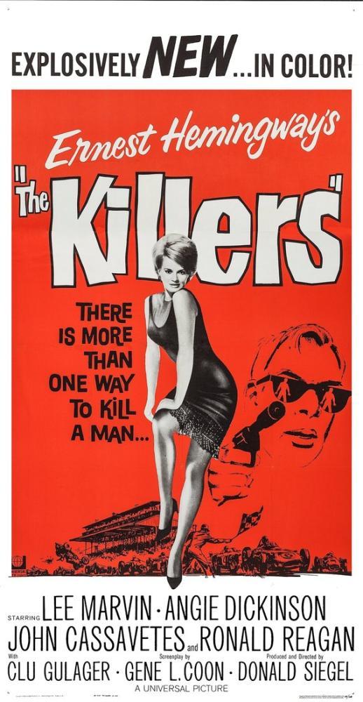 The Killers Movie Poster, Vintage, Poster Satış, all posters, kanvas tablo, canvas print sales