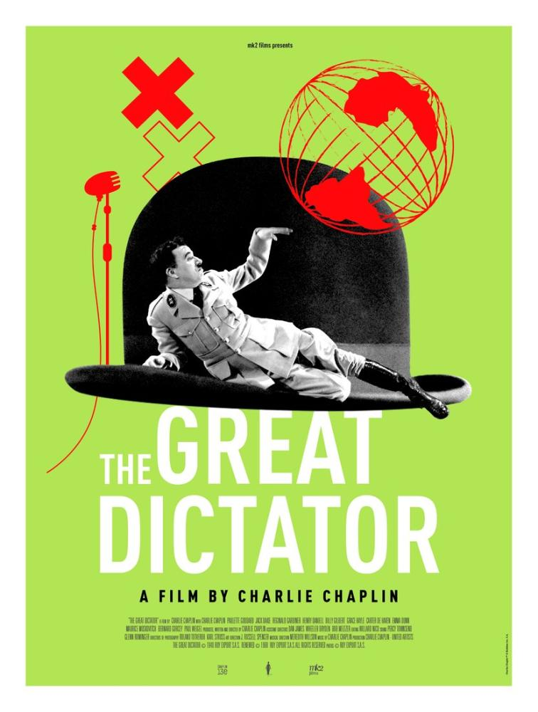 The Great Dictator Movie Poster, Vintage, Poster Satış, all posters, kanvas tablo, canvas print sales
