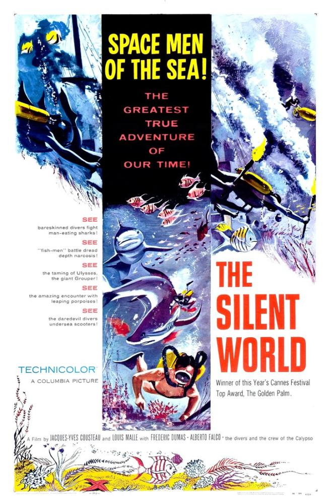 The Silent World Movie Poster, Vintage, Poster Satış, all posters, kanvas tablo, canvas print sales