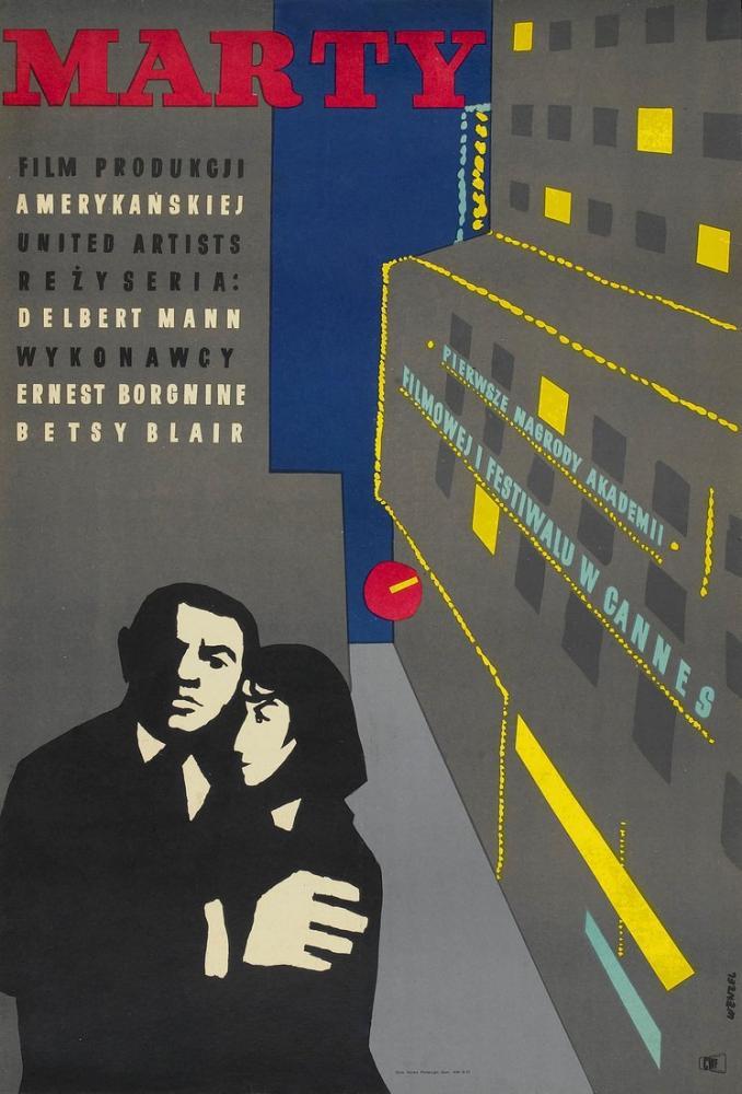 Marty Film Posteri, Vintage, Poster Satış, all posters, kanvas tablo, canvas print sales