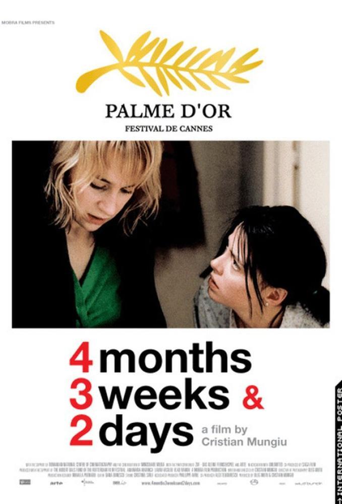 4 Months, 3 Weeks and 2 Days Movie Poster, Movie Poster, Poster Satış, all posters, kanvas tablo, canvas print sales