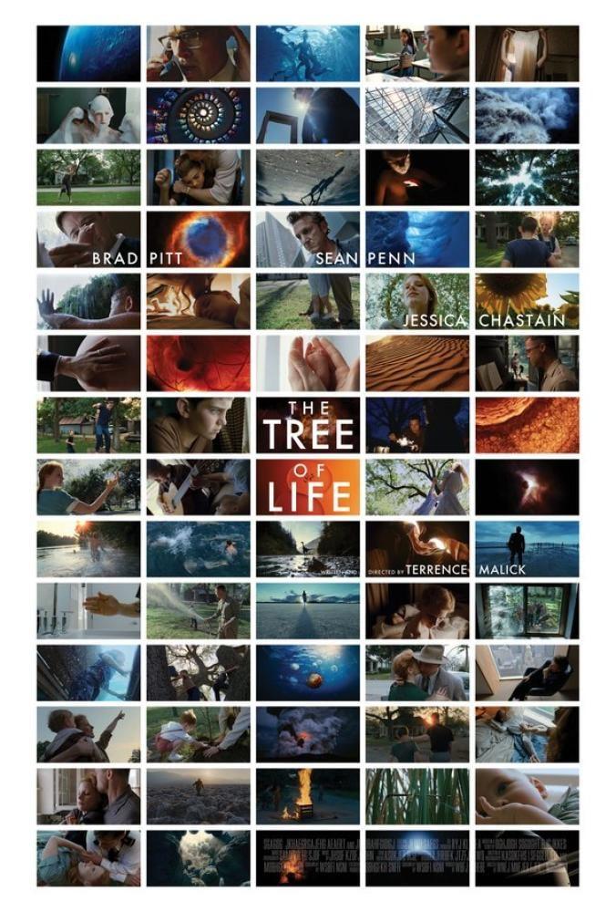 The Tree of Life Movie Poster, Movie Poster, Poster Satış, all posters, kanvas tablo, canvas print sales