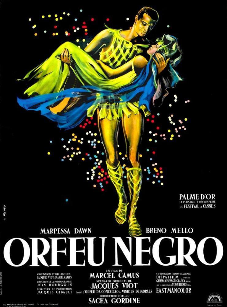 Siyah Orfe Film Posteri, Vintage, Poster Satış, all posters, kanvas tablo, canvas print sales