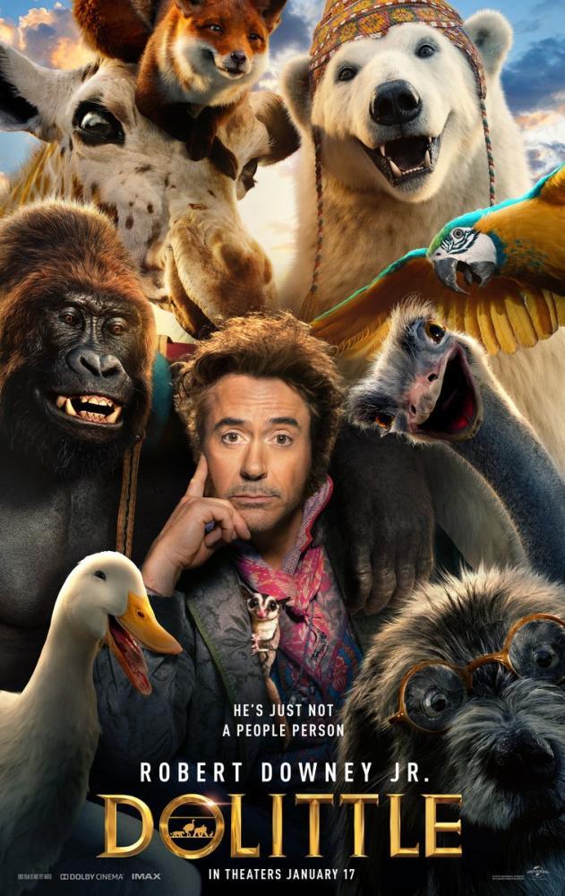 Dolittle Movie Poster, Movie Poster, Poster Satış, all posters, kanvas tablo, canvas print sales