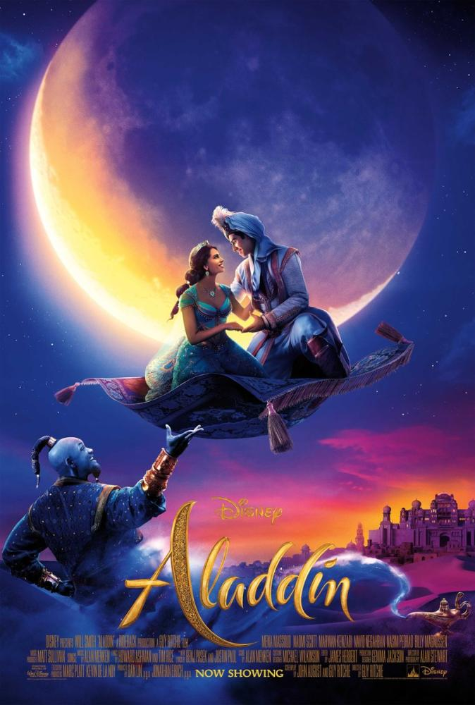 Aladdin Movie Poster, Movie Poster, Poster Satış, all posters, kanvas tablo, canvas print sales