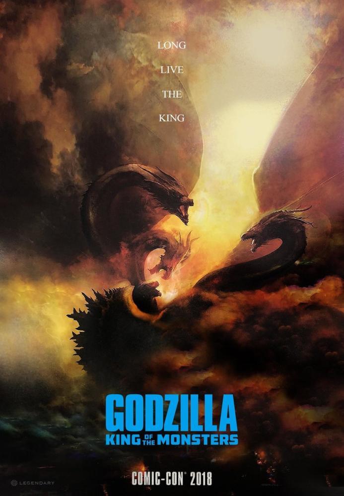 Godzilla: Canavarlar Kralı Film Posteri, Film Posteri, Poster Satış, all posters, kanvas tablo, canvas print sales
