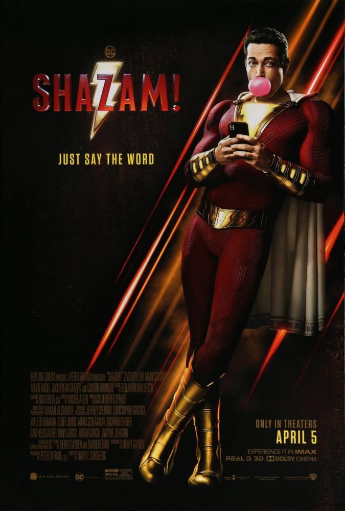 Shazam! Movie Poster, Movie Poster, Poster Satış, all posters, kanvas tablo, canvas print sales