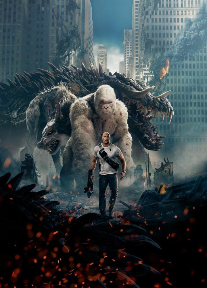 Rampage Movie Poster, Movie Poster, Poster Satış, all posters, kanvas tablo, canvas print sales