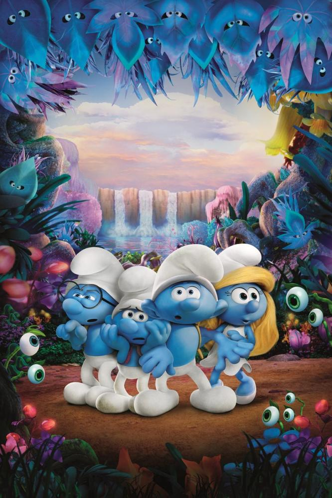 Smurfs: The Lost Village Movie Poster, Movie Poster, Poster Satış, all posters, kanvas tablo, canvas print sales