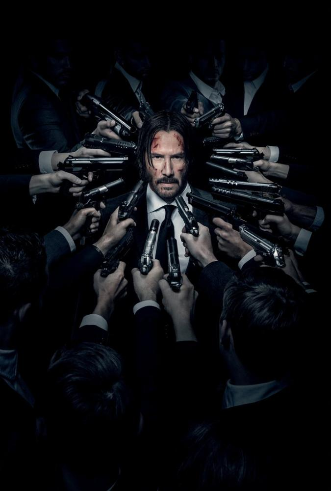 John Wick 2 Movie Poster, Movie Poster, Poster Satış, all posters, kanvas tablo, canvas print sales