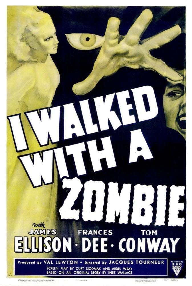 I Walked with a Zombie Movie Poster, Movie Poster, Poster Satış, all posters, kanvas tablo, canvas print sales