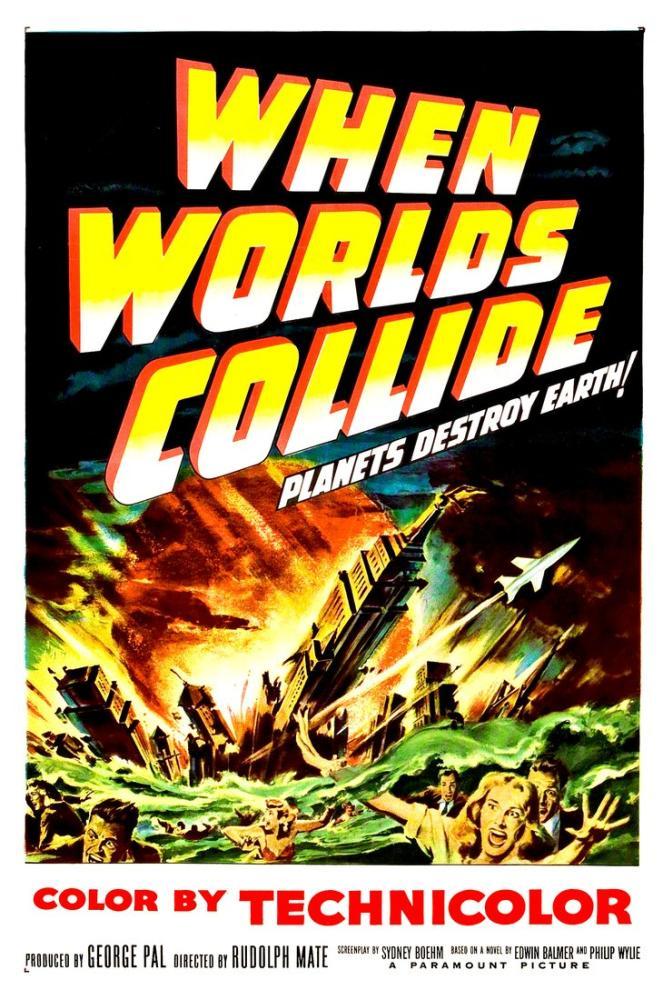 When Worlds Collide Film Posteri, Film Posteri, Poster Satış, all posters, kanvas tablo, canvas print sales