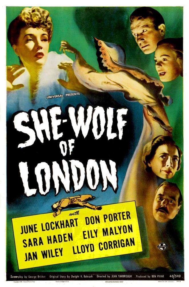 She-Wolf of London Movie Poster, Movie Poster, Poster Satış, all posters, kanvas tablo, canvas print sales