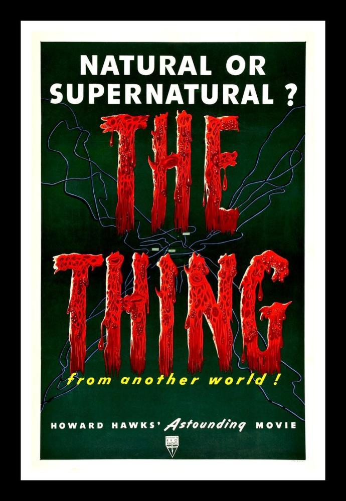 The Thing Movie Poster, Movie Poster, Poster Satış, all posters, kanvas tablo, canvas print sales