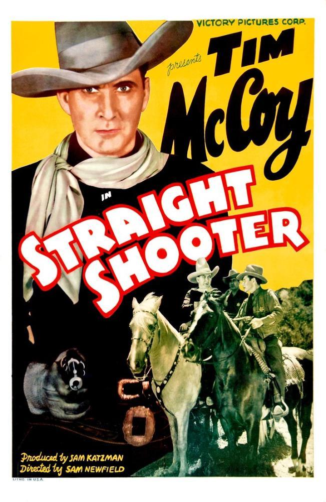 Straight Shooter Film Posteri, Film Posteri, Poster Satış, all posters, kanvas tablo, canvas print sales