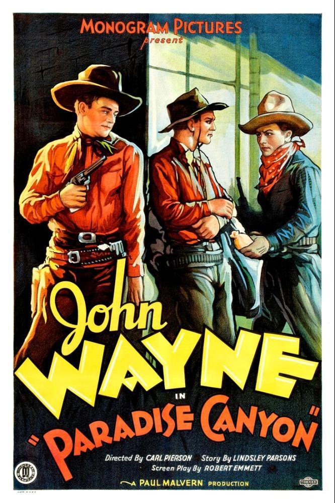 Paradise Canyon Vintage Movie Poster, Vintage, Poster Satış, all posters, kanvas tablo, canvas print sales