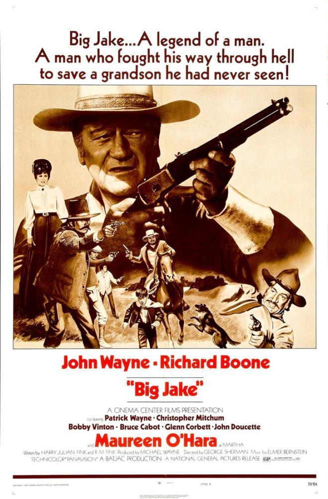 Big Jake Movie Poster, Movie Poster, Poster Satış, all posters, kanvas tablo, canvas print sales