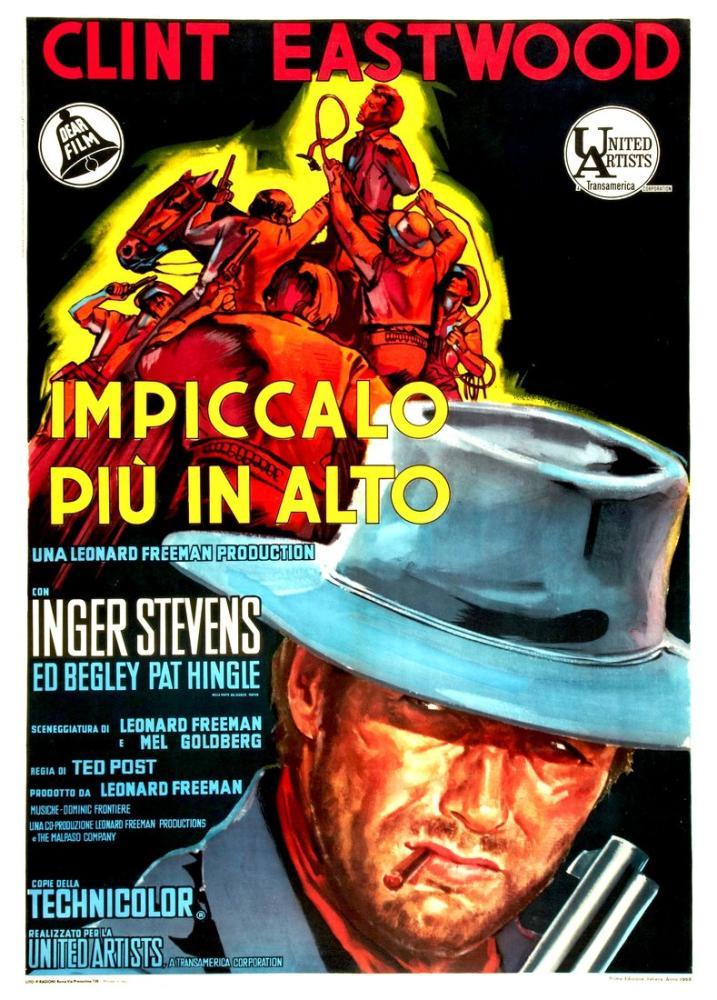 Impiccalo più in alto Movie Poster, Vintage, Poster Satış, all posters, kanvas tablo, canvas print sales