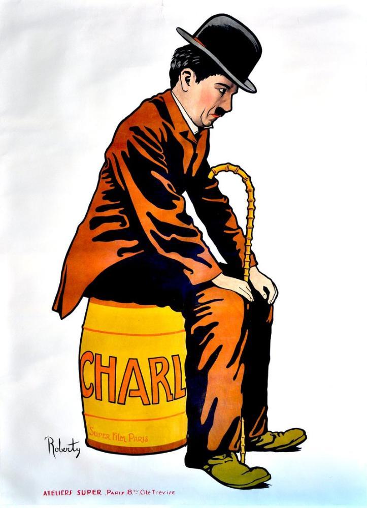 Charlie Chaplin Film Posteri, Film Posteri, Poster Satış, all posters, kanvas tablo, canvas print sales