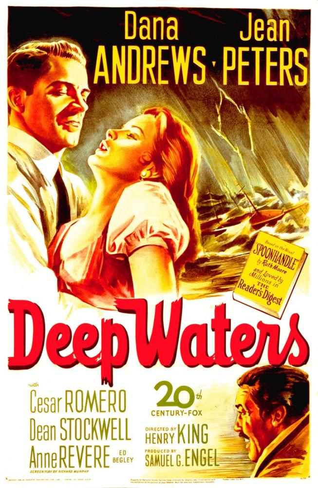 Deep Waters Movie Poster, Movie Poster, Poster Satış, all posters, kanvas tablo, canvas print sales