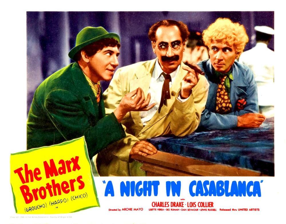A Night in Casablanca Film Posteri, Film Posteri, Poster Satış, all posters, kanvas tablo, canvas print sales