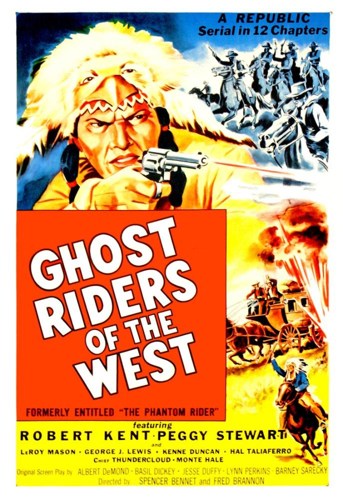 Ghost Riders of the West Movie Poster, Movie Poster, Poster Satış, all posters, kanvas tablo, canvas print sales