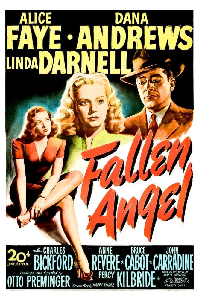 Fallen Angel Movie Poster, Movie Poster, Poster Satış, all posters, kanvas tablo, canvas print sales