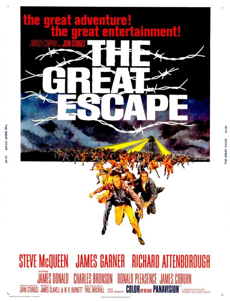 The Great Escape Movie Poster, Movie Poster, Poster Satış, all posters, kanvas tablo, canvas print sales