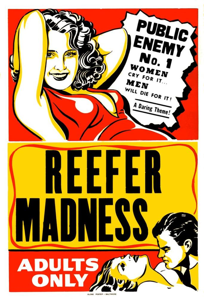 Reefer Madness  Public Enemy Number 1 Movie Poster, Movie Poster, Poster Satış, all posters, kanvas tablo, canvas print sales