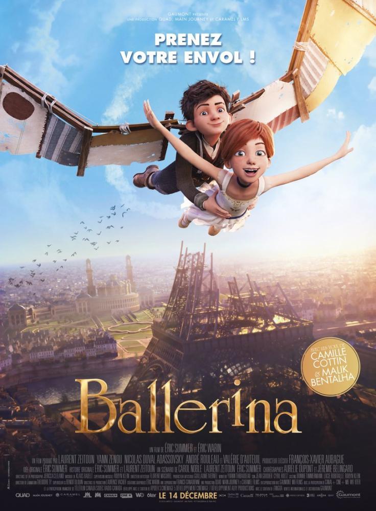 Ballerina Movie Poster, Movie Poster, Poster Satış, all posters, kanvas tablo, canvas print sales