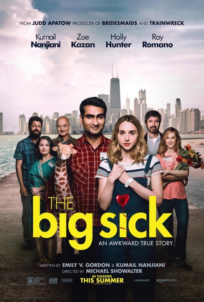 The Big Sick Movie Poster, Movie Poster, Poster Satış, all posters, kanvas tablo, canvas print sales