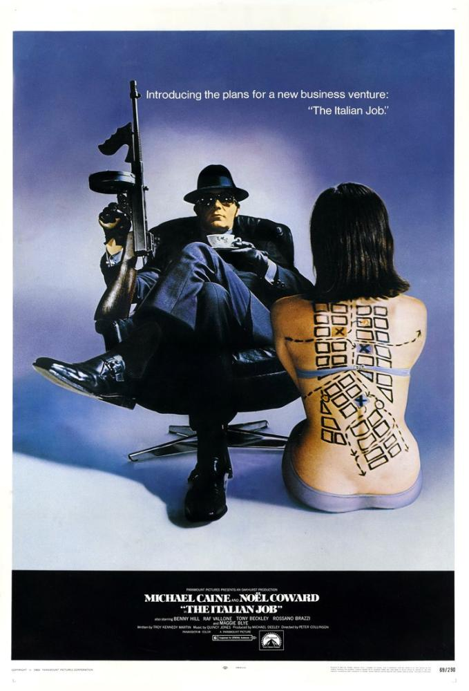 The Italian Job Movie Poster, Movie Poster, Poster Satış, all posters, kanvas tablo, canvas print sales