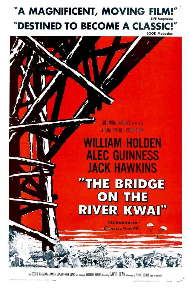 The Bridge on the River Kwai Movie Poster, Movie Poster, Poster Satış, all posters, kanvas tablo, canvas print sales
