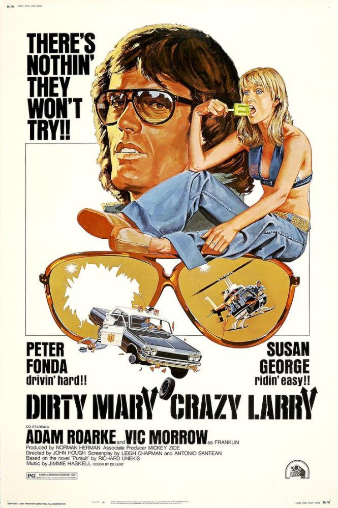 Dirty Mary, Crazy Larry Movie Poster, Movie Poster, Poster Satış, all posters, kanvas tablo, canvas print sales