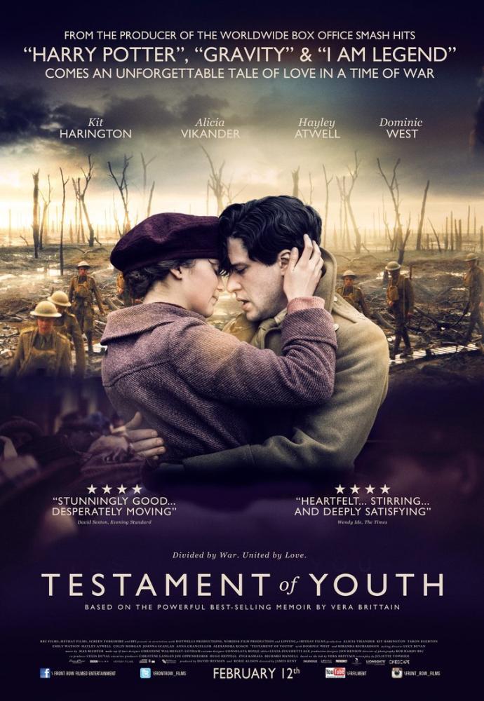 Testament of Youth Movie Poster, Movie Poster, Poster Satış, all posters, kanvas tablo, canvas print sales